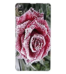 ColourCraft Beautiful Rose Design Back Case Cover for LENOVO K3 NOTE