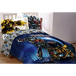 Hasbro Transformer 3 Armada Twin/Full Comforter, Multi