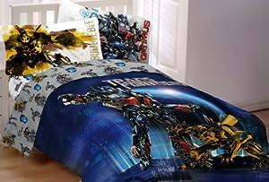 Hasbro Transformer 3 Armada Twin/Full Comforter, Multi