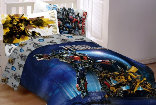 Great Features Of Hasbro Transformer 3 Armada Twin/Full Comforter, Multi