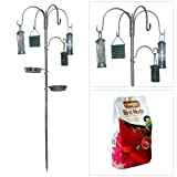 Deluxe All-in-One Garden Bird Feeding Station with Free 0.9Kg Packet of Bird Nuts!