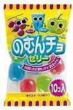 東豊製菓 のむんちょゼリー (90g×10個入り)×10袋