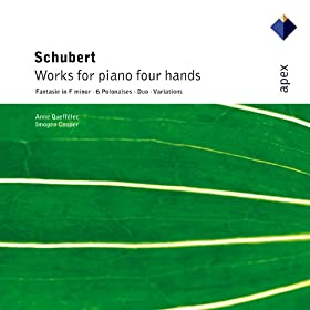 Schubert : Works for piano four hands