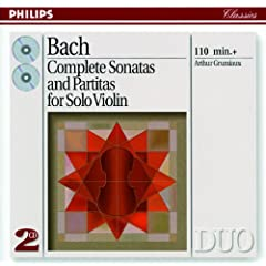 J.S. Bach: Partita for Violin Solo No.1 in B minor, BWV 1002 - 7. Tempo di Borea