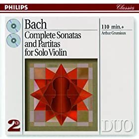 J.S. Bach: Partita for Violin Solo No.3 in E, BWV 1006 - 6. Gigue