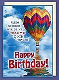 Riesen-Geburtstagskarte Flieg so hoch...A4