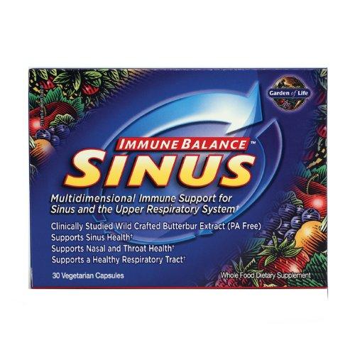 Garden of Life Immune Balance, Sinus, 30 Veg Capsules