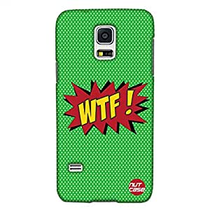 WTF - What The F**K - Comic Styled - Nutcase Designer Samsung galaxy S5M Cover