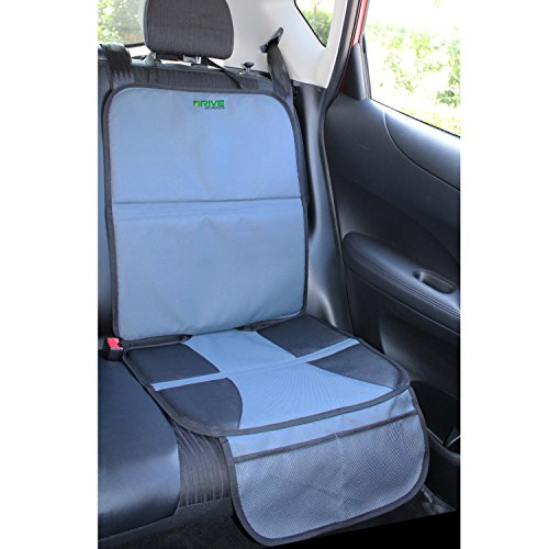car seat protector by drive auto products best. Black Bedroom Furniture Sets. Home Design Ideas