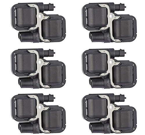 NEW LIFETIME WARRANTY Set of 6 Ignition Coils for Mercedes-benz Chrysler Crossfire L6 V6 V8 Compatible with C1444 C1361 UF-359 (Mercedes C320 Fuel Pump compare prices)