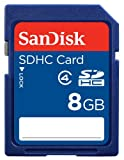 SanDisk 8GB SD High Capacity Card (SDSDB-008G-B35)