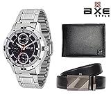 AXE style Combo of Watch, Wallet Belt X0182C