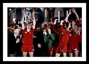 Liverpool Fc 1981 European Cup Framed Print Memorabilia