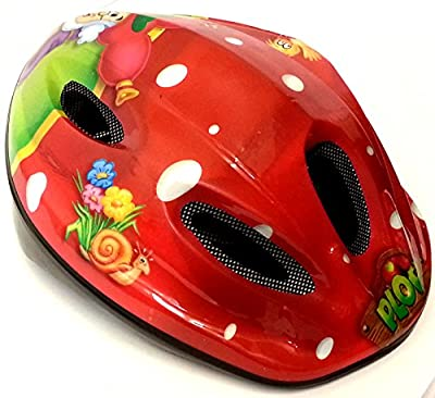 Cycle Helmet Boys / Girls (52-58cm) 5-12 Yrs Plop Maroon from Xpect