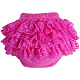 BuyHere Baby Girl's Cotton Lace Ruffle Underpants