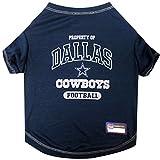 NFL DALLAS COWBOYS Dog T-Shirt, Medium