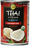 Thai Kitchen Organic Coconut Milk, Premium, First Pressing, 13.66 Ounce (Pack of 6)