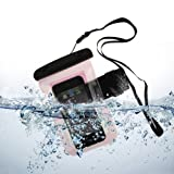 New Pink Waterproof Armband Case for Apple iPhone 5 / 5S / 5C / 4S / Nokia Lumia 530 / 520 / 521 / Moto E 4GB / Samsung Galaxy Ace 4 / Samsung Galaxy S3 Mini / Samsung Galaxy S4 Mini