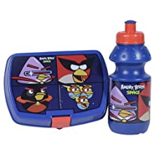 Angry Birds Space Lunch Box & Water Bottle Combo