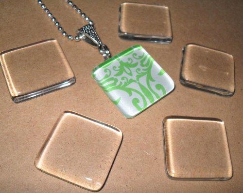 olivia pearl designs 10 small ultra clear 1 inch square