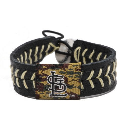 MLB St. Louis Cardinals Camouflage Baseball Bracelet at Amazon.com