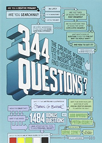 344 Questions:The Creative Person's Do-It-Yourself Guide to Insight,  Survival, and Artistic Fulfillment (Voices That Matter)