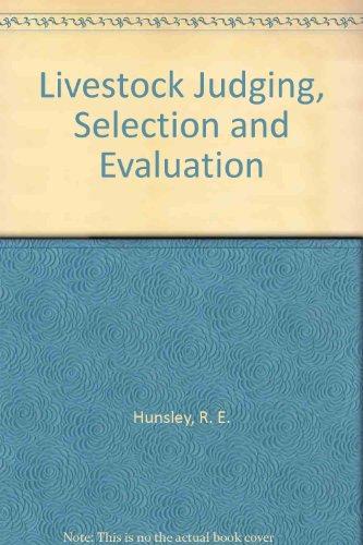 Livestock Judging, Selection & Evaluation