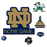 NCAA Notre Dame Fighting Irish ND Logo Wall Decal