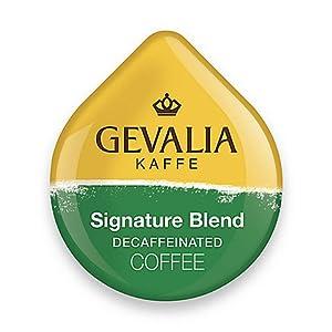 Gevalia Signature Blend Decaffeinated Coffee, 16-Count T-Discs for Tassimo Coffeemakers