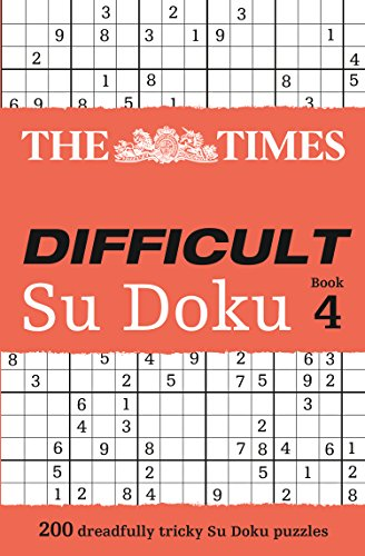 The Times Difficult Su Doku Book 4 PDF