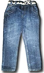 Topchee Kids' Jeans (JNK-20_Blue_14 to 15 Years)