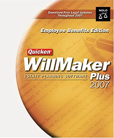 Quicken WillMaker Employee Benefits Edition