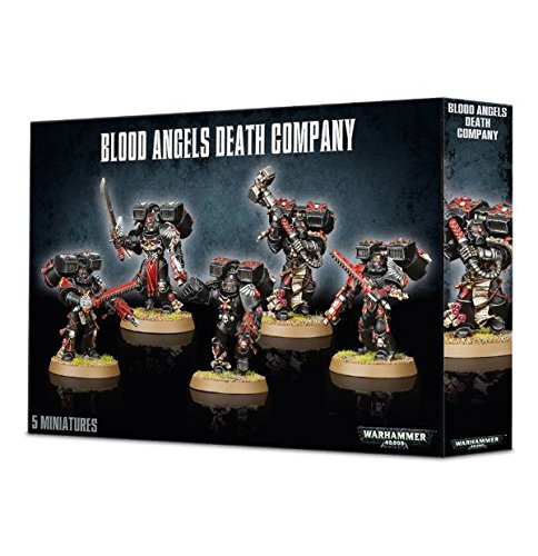 Warhammer 40k Blood Angels Death Company NIB .HN#GG_634T6344 G134548TY39150 (40k Death Company compare prices)