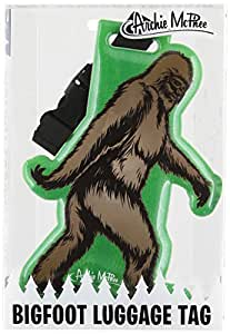 Accoutrements Bigfoot Luggage Tag