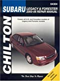 Subaru Legacy & Forester: 2000 through 2006