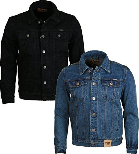 DUKE D555 -  Jeans  - Maniche lunghe  - Uomo nero XXX-Large