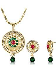 Ava Jewellery Set For Women (Gold) (S-VS-2240)