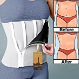 Utrax Neoprene 6 Zipper Weight Loss Slimming Belt Waist Trimmer Body Shaper Waistband 24