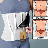 Utrax Neoprene 6 Zipper Weight Loss Slimming Belt Waist Trimmer Body Shaper Waistband 24