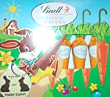 Lindt Chocolate Carrots Gift Set, Includes Funny Easter Keyring
