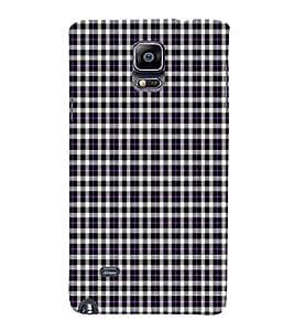 EPICCASE purple checks Mobile Back Case Cover For Samsung Galaxy Note Edge (Designer Case)