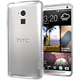 Hyperion HTC One Max T6 TPU Case (Compatible with Sprint HTC One Max, T-Mobile HTC One Max, Verizon Wireless HTC One Max, and AT&T HTC One Max Phones) **Hyperion Retail Packaging** [3 Year Hyperion Manufacturer Warranty] (Frost Clear)