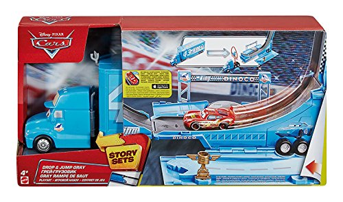 Disney - Cars DHF52 - Gray Trasportatore