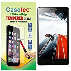 Casotec 2.5D Curved Edge Tempered Glass Screen Protector for Lenovo A6000