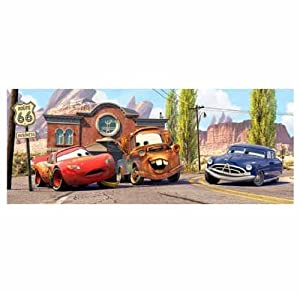 Disney cars photo wall mural 250 x 100 cm for Disney cars large wall mural