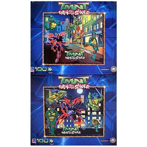 Cheap Fun TMNT Teenage Mutant Ninja Turtles 100 Piece Puzzle 9″ X 10″ (B0041SNSKQ)