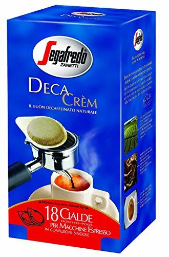 Get Segafredo Zanetti Deca Crem 18 Coffee Pods by Segafredo
