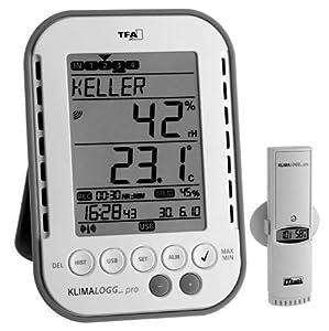 ProfiKlimalogger Klimalogg Pro TFA 30.3039 inkl. Funksender 30.3180  BaumarktKundenbewertung und weitere Informationen