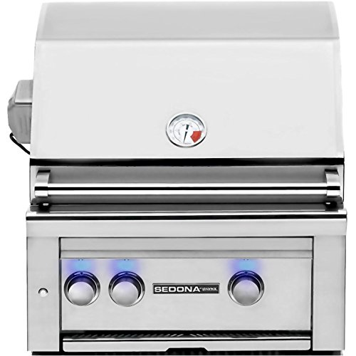 Sedona By Lynx 24-inch Built-in Natural Gas Grill With Prosear Burner And Rotisserie L400psr