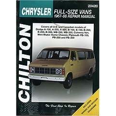【クリックで詳細表示】Chilton's Chrysler: Chrysler Full-Size Vans 1967-88 Repair Manual (Chilton's Total Car Care Repair Manual) [ペーパーバック]